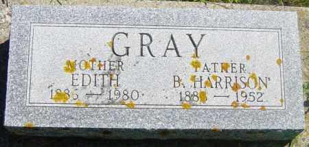 GRAY, B HARRISON - Lincoln County, South Dakota | B HARRISON GRAY - South Dakota Gravestone Photos