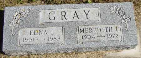 GRAY, MEREDITH C - Lincoln County, South Dakota   MEREDITH C GRAY - South Dakota Gravestone Photos