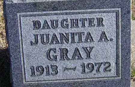 GRAY, JUANITA A - Lincoln County, South Dakota | JUANITA A GRAY - South Dakota Gravestone Photos