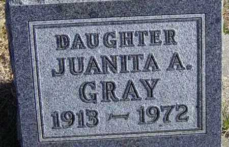 GRAY, JUANITA A - Lincoln County, South Dakota | JUANITA A GRAY - South Dakota Gravestone Photos