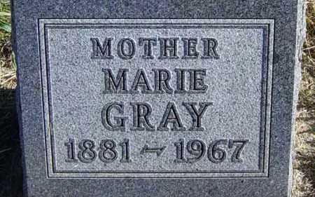 GRAY, MARIE - Lincoln County, South Dakota | MARIE GRAY - South Dakota Gravestone Photos