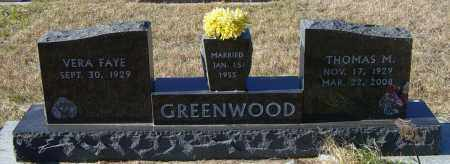 GREENWOOD, THOMAS M - Lincoln County, South Dakota   THOMAS M GREENWOOD - South Dakota Gravestone Photos