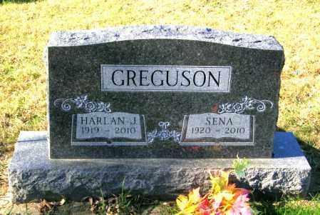 GREGUSON, SENA - Lincoln County, South Dakota | SENA GREGUSON - South Dakota Gravestone Photos