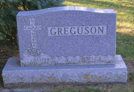 GREGUSON, OLIVER L. - Lincoln County, South Dakota | OLIVER L. GREGUSON - South Dakota Gravestone Photos