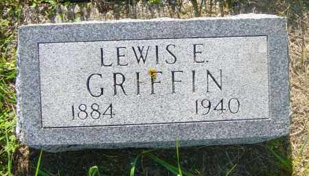 GRIFFIN, LEWIS E - Lincoln County, South Dakota | LEWIS E GRIFFIN - South Dakota Gravestone Photos