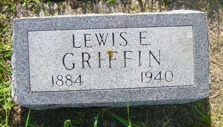 GRIFFIN, LEWIS E - Lincoln County, South Dakota | LEWIS E GRIFFIN - South Dakota Gravestone Photos