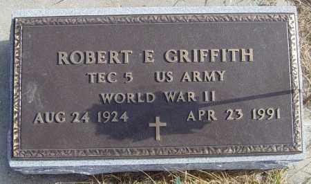 GRIFFITH, ROBERT E - Lincoln County, South Dakota | ROBERT E GRIFFITH - South Dakota Gravestone Photos