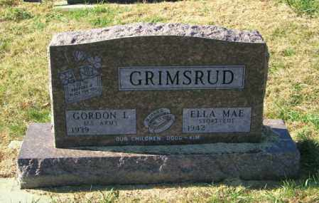 GRIMSRUD, ELLA MAE - Lincoln County, South Dakota | ELLA MAE GRIMSRUD - South Dakota Gravestone Photos