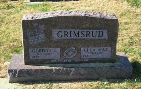 GRIMSRUD, ELLA MAE - Lincoln County, South Dakota | ELLA MAE GRIMSRUD - South Dakota Gravestone Photos