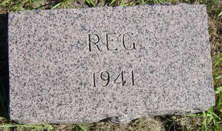GRISDALE, REG - Lincoln County, South Dakota | REG GRISDALE - South Dakota Gravestone Photos