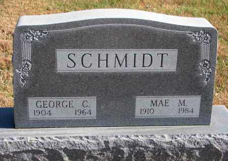 SCHMIDT, GEORGE C. - Lincoln County, South Dakota | GEORGE C. SCHMIDT - South Dakota Gravestone Photos