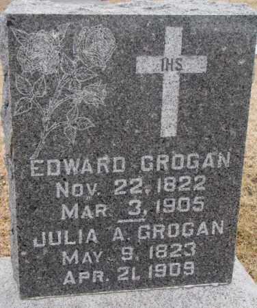GROGAN, EDWARD WILLIAM - Lincoln County, South Dakota | EDWARD WILLIAM GROGAN - South Dakota Gravestone Photos