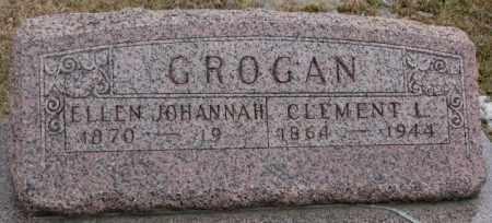 GROGAN, ELLEN JOHANNAH - Lincoln County, South Dakota   ELLEN JOHANNAH GROGAN - South Dakota Gravestone Photos