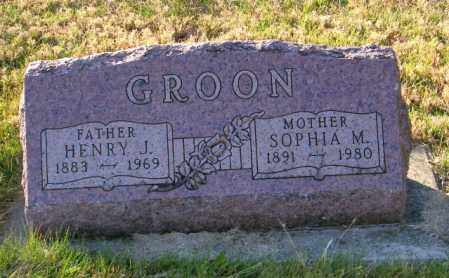 GROON, HENRY J. - Lincoln County, South Dakota | HENRY J. GROON - South Dakota Gravestone Photos
