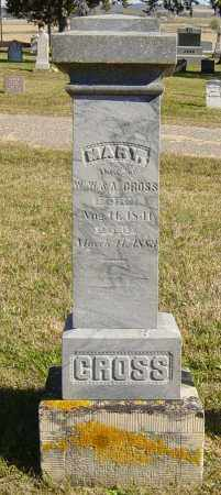 GROSS, MARY - Lincoln County, South Dakota | MARY GROSS - South Dakota Gravestone Photos