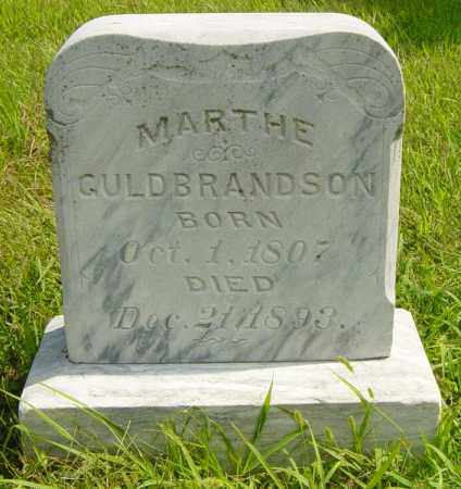 GULBRANDSON, MARTHE - Lincoln County, South Dakota | MARTHE GULBRANDSON - South Dakota Gravestone Photos
