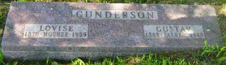 GUNDERSON, LOVISE - Lincoln County, South Dakota | LOVISE GUNDERSON - South Dakota Gravestone Photos
