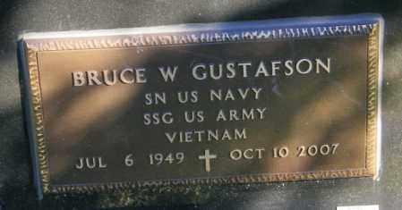 GUSTAFSON, BRUCE W. - Lincoln County, South Dakota | BRUCE W. GUSTAFSON - South Dakota Gravestone Photos