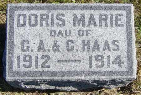 HAAS, DORIS MARIE - Lincoln County, South Dakota | DORIS MARIE HAAS - South Dakota Gravestone Photos