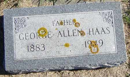 HAAS, GEORGE ALLEN - Lincoln County, South Dakota | GEORGE ALLEN HAAS - South Dakota Gravestone Photos