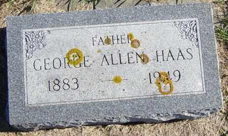 HAAS, GEORGE ALLEN - Lincoln County, South Dakota | GEORGE ALLEN HAAS - South Dakota Gravestone Photos