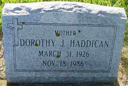 HADDICAN, DOROTHY J - Lincoln County, South Dakota | DOROTHY J HADDICAN - South Dakota Gravestone Photos