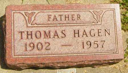 HAGEN, THOMAS - Lincoln County, South Dakota | THOMAS HAGEN - South Dakota Gravestone Photos