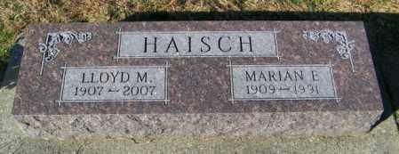 HAISCH, LLOYD M. - Lincoln County, South Dakota | LLOYD M. HAISCH - South Dakota Gravestone Photos