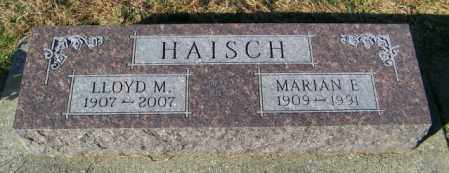 HAISCH, LLOYD M. - Lincoln County, South Dakota | LLOYD M. HAISCH - South Dakota Gravestone Photos