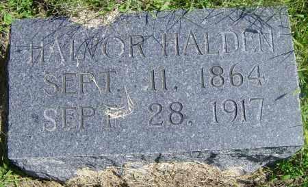 HALDEN, HALVOR - Lincoln County, South Dakota | HALVOR HALDEN - South Dakota Gravestone Photos