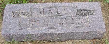 HALE, DAVID A - Lincoln County, South Dakota | DAVID A HALE - South Dakota Gravestone Photos