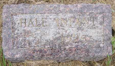 HALE, INFANT - Lincoln County, South Dakota   INFANT HALE - South Dakota Gravestone Photos