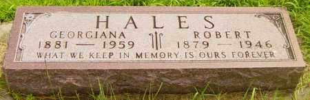 HALES, ROBERT - Lincoln County, South Dakota | ROBERT HALES - South Dakota Gravestone Photos