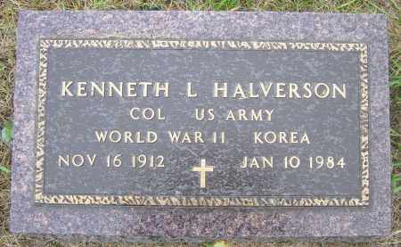 HALVORSON, KENNETH L - Lincoln County, South Dakota | KENNETH L HALVORSON - South Dakota Gravestone Photos