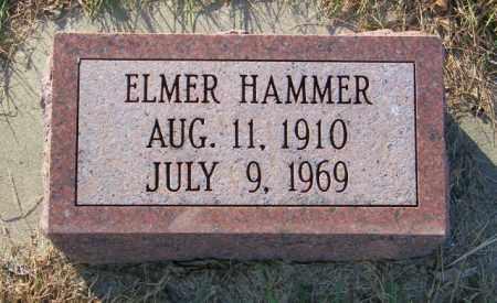 HAMMER, ELMER - Lincoln County, South Dakota | ELMER HAMMER - South Dakota Gravestone Photos