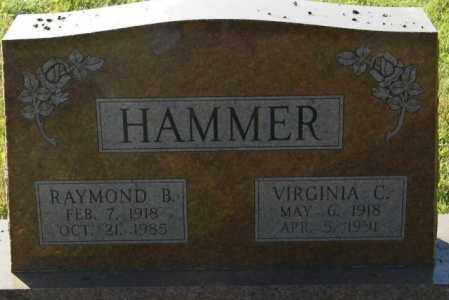 HAMMER, RAYMOND B. - Lincoln County, South Dakota | RAYMOND B. HAMMER - South Dakota Gravestone Photos