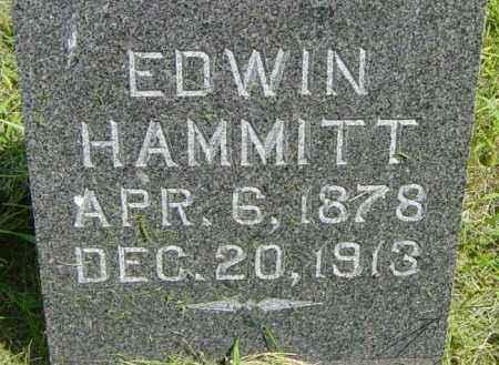 HAMMITT, EDWIN - Lincoln County, South Dakota | EDWIN HAMMITT - South Dakota Gravestone Photos