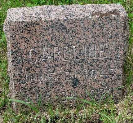 HANSEN, CAROLINE - Lincoln County, South Dakota | CAROLINE HANSEN - South Dakota Gravestone Photos