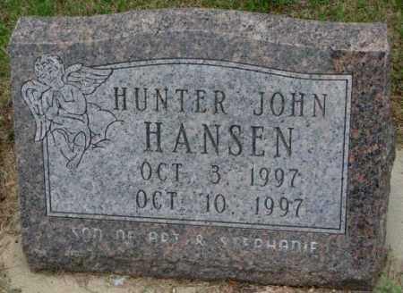 HANSEN, HUNTER JOHN - Lincoln County, South Dakota | HUNTER JOHN HANSEN - South Dakota Gravestone Photos