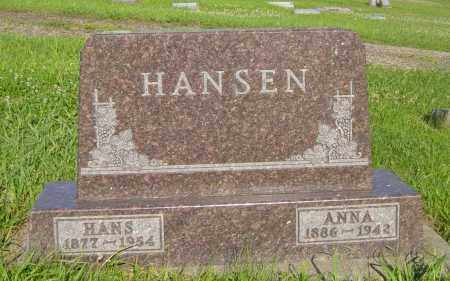 HANSEN, ANNA - Lincoln County, South Dakota | ANNA HANSEN - South Dakota Gravestone Photos