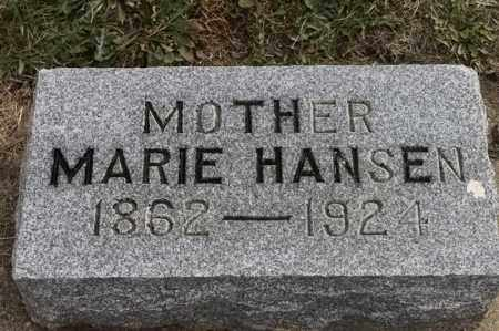 HANSEN, MARIE - Lincoln County, South Dakota | MARIE HANSEN - South Dakota Gravestone Photos