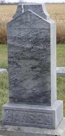 HANSEN, NIELS C - Lincoln County, South Dakota | NIELS C HANSEN - South Dakota Gravestone Photos