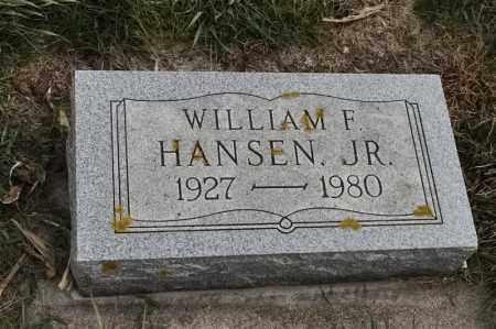 HANSEN, WILLIAM F - Lincoln County, South Dakota | WILLIAM F HANSEN - South Dakota Gravestone Photos