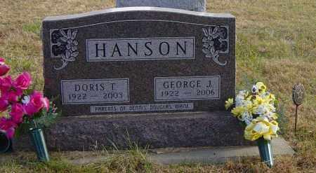 HANSON, DORIS T - Lincoln County, South Dakota | DORIS T HANSON - South Dakota Gravestone Photos