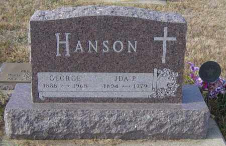HANSON, GEORGE - Lincoln County, South Dakota | GEORGE HANSON - South Dakota Gravestone Photos