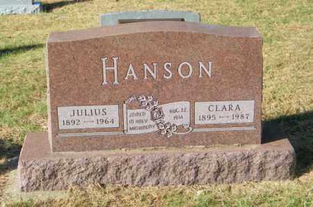 HANSON, CLARA - Lincoln County, South Dakota | CLARA HANSON - South Dakota Gravestone Photos