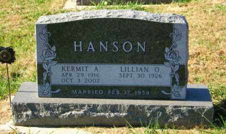 HANSON, LILLIAN O - Lincoln County, South Dakota | LILLIAN O HANSON - South Dakota Gravestone Photos