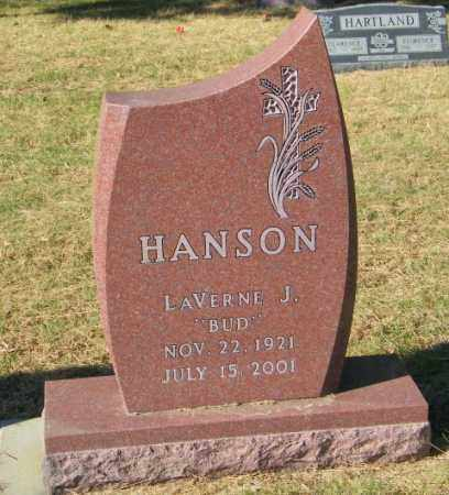 HANSON, LAVERNE J. - Lincoln County, South Dakota | LAVERNE J. HANSON - South Dakota Gravestone Photos
