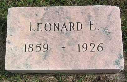 HANSON, LEONARD E. - Lincoln County, South Dakota | LEONARD E. HANSON - South Dakota Gravestone Photos