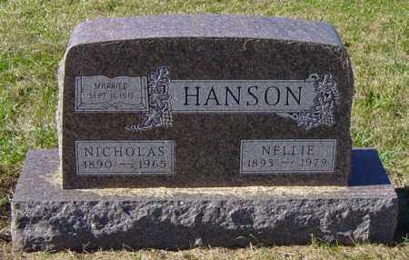 SOUVIGNIER HANSON, NELLIE - Lincoln County, South Dakota | NELLIE SOUVIGNIER HANSON - South Dakota Gravestone Photos
